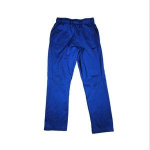 Nike dri fit blue athletic jogger sweat pants
